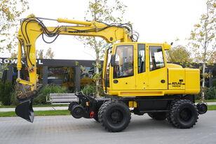bager na kolesih ATLAS Road-rail excavator Atlas 1404ZW