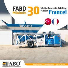 nova betonarna FABO MINIMIX-30M3/H MINI CENTRALE A BETON MOBILE
