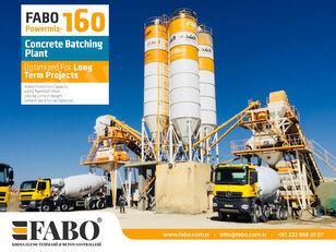 nova betonarna FABO POWERMIX-160 STATIONARY CONCRETE BATCHING PLANT