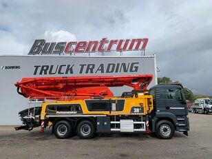 betonska črpalka Putzmeister BSF na šasiji MAN TGS 26.400 6x4 Putzmeister 38-5 m / Top Pump / German Truck