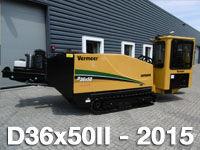 horizontalni vrtalni stroj VERMEER  D36x50II