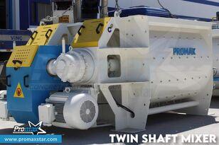 nov mešalec betona PROMAX 2 m3 /3 m3 TWIN SHAFT MIXER