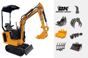 nov mini bager BERGER KRAUS Mini Excavator BK800BS torsion arm with FULL equipment