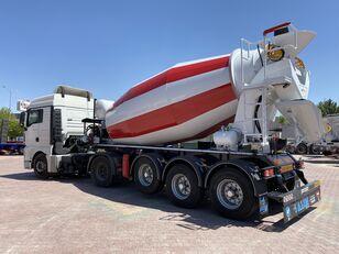 nova polprikolica za mešalec betona ALIM mixer semi trailer concrete mixer semi-trailer