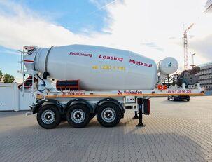 polprikolica za mešalec betona SCHWARZMÜLLER TTC-Fulda Betonmischer Auflieger mit Motor  NEU