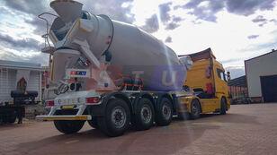 nova polprikolica za mešalec betona STU 12.7 CBM MIXER TRAILER