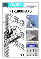 nov viseč oder PT ALBA 1800FA/B