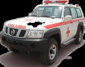 nov reševalno vozilo NISSAN Patrol 4.0 XE AT
