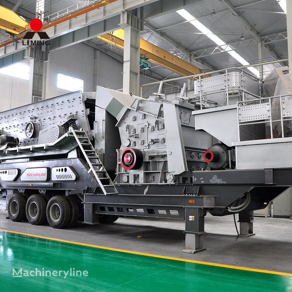 nov drobilec kamenja Liming High Quality Large Mobile Stone Crusher Station