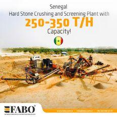 nova drobilnica FABO STATIONARY TYPE 200-350 T/H HARDSTONE CRUSHING & SCREENING PLANT